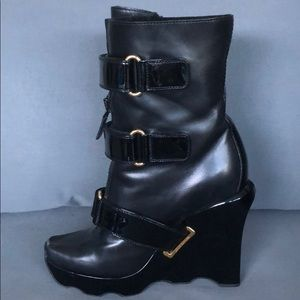 Louis Vuitton Wedge Boots